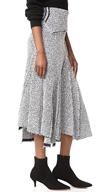 3.1 Phillip Lim Draped Skirt