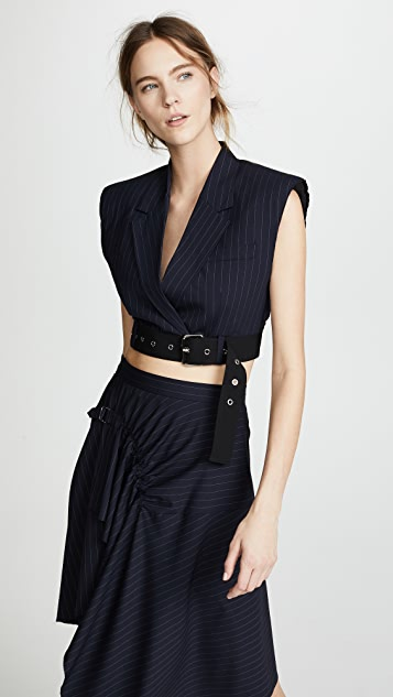 Cropped Vest by 3.1 Phillip Lim