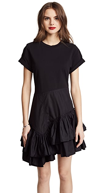 3.1 Phillip Lim Flamenco T-Shirt Dress