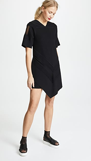 3.1 Phillip Lim Needle Punch Handkerchief Dress