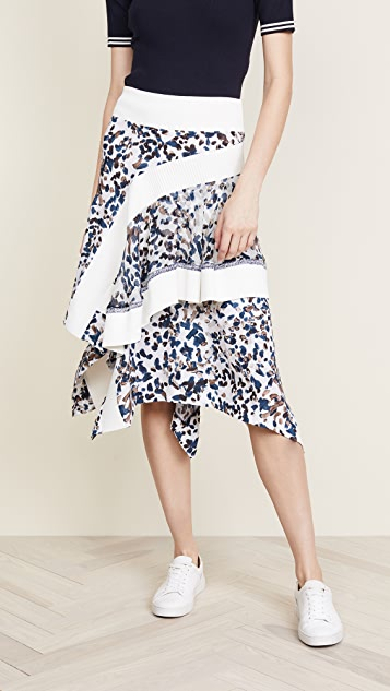 3.1 Phillip Lim Painted Dot Skirt