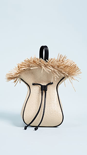 3.1 Phillip Lim Mini Punching Bag - Natural Black