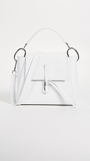 3.1 Phillip Lim Leigh Top Handle Satchel - White