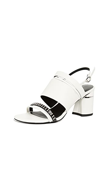 3.1 Phillip Lim Drum 70mm Multi Strap Sandals