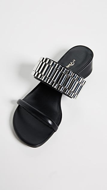 3.1 Phillip Lim Drum 30mm 表带风格凉鞋