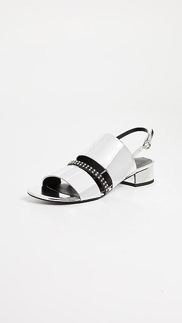 3.1 Phillip Lim Drum 30mm Studded Strap Sandal