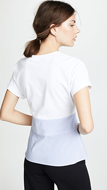 3.1 Phillip Lim Top with Corset Waist