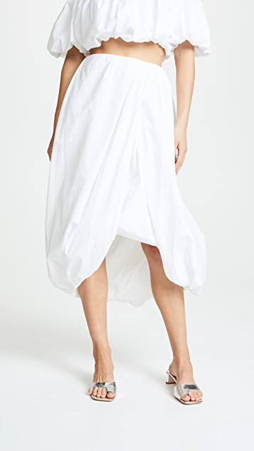 3.1 Phillip Lim Draped Bubble Skirt