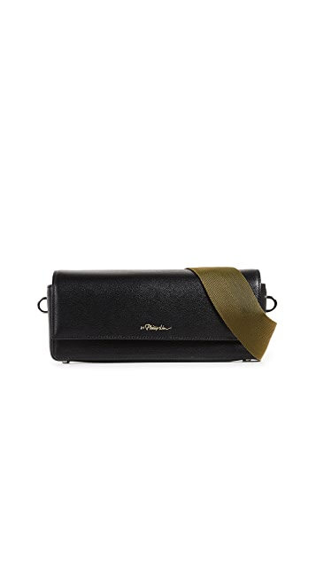 3.1 Phillip Lim Ray Baguette Cross Body Bag