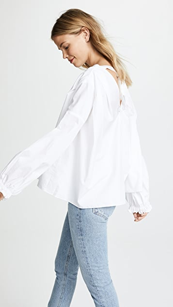 3.1 Phillip Lim V Neck Blouse