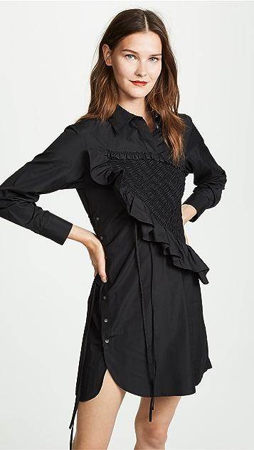 3.1 Phillip Lim 不对称衬衣式连衣裙