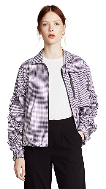 3.1 Phillip Lim Gingham Track Jacket