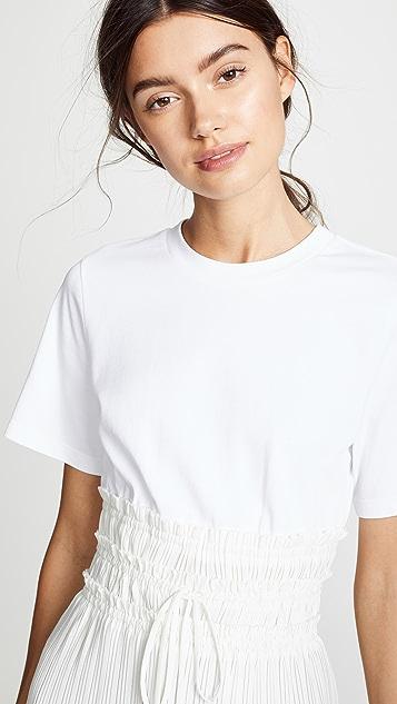 3.1 Phillip Lim Pleated Waist T-Shirt