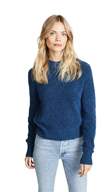 3.1 Phillip Lim Inset Shoulder Pullover Sweater