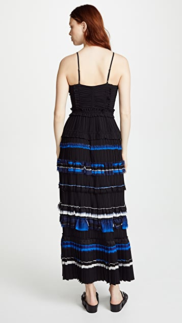3.1 Phillip Lim Pleated Cami Gown