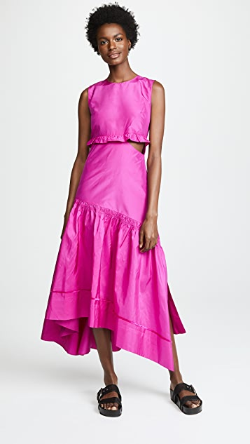 3.1 Phillip Lim Taffeta Maxi Dress