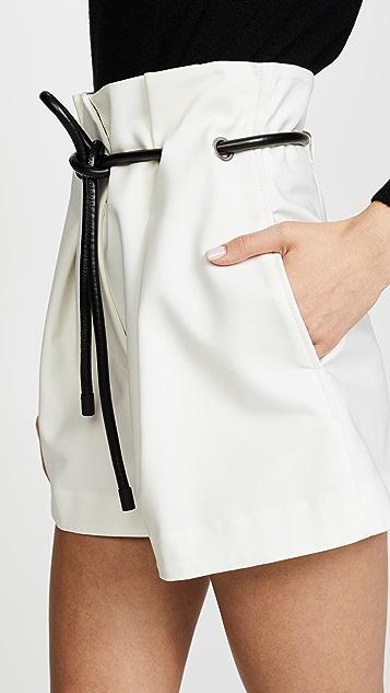 3.1 Phillip Lim Origami 褶皱短裤