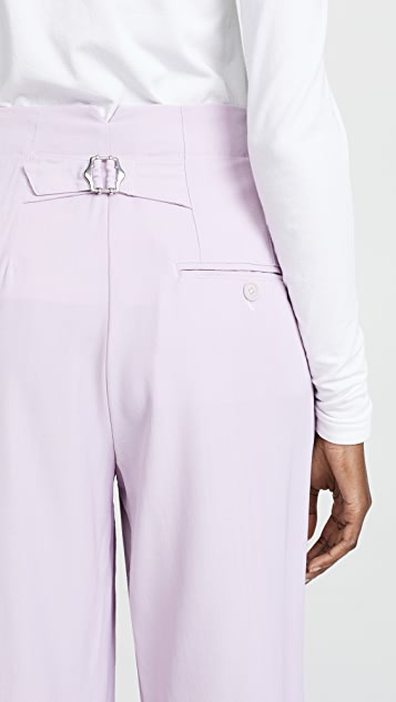 3.1 Phillip Lim Cropped Straight Tailored Pants