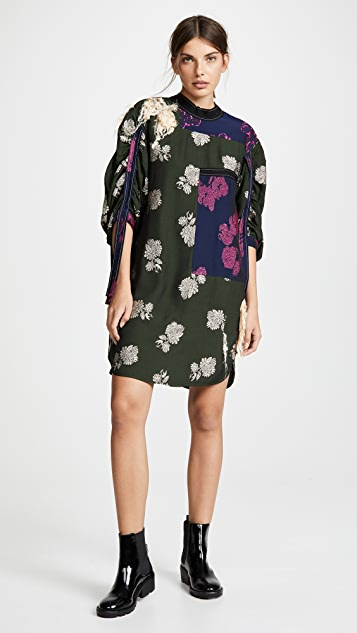 3.1 Phillip Lim Gathered Sleeve Dress