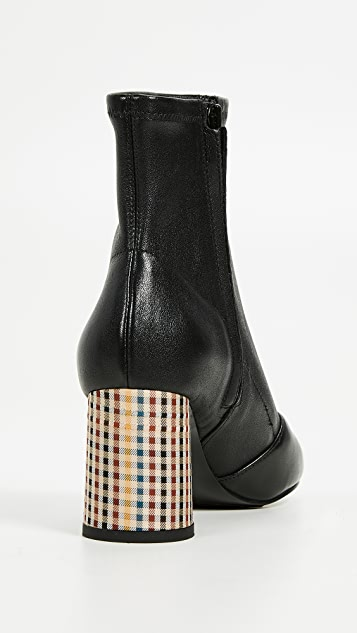 3.1 Phillip Lim Drum Stretch Ankle Booties