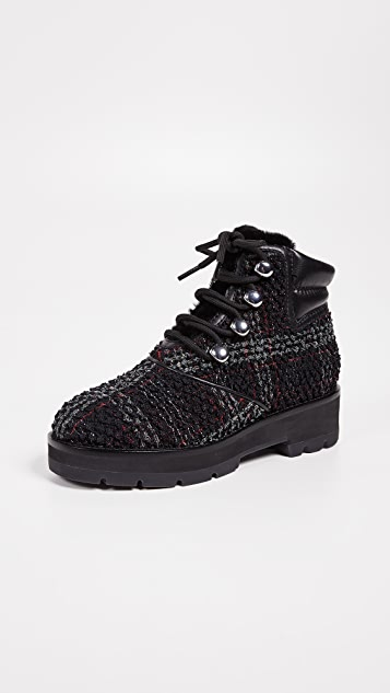 3.1 Phillip Lim Dylan Lace Up Hiking Boots