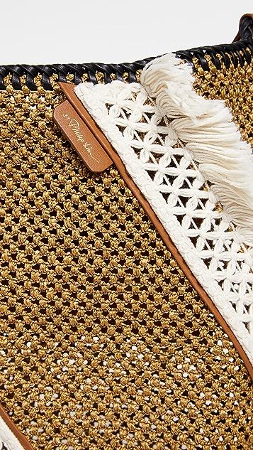 105c27eb7 3.1 Phillip Lim Marlee Open Weave Bag With Fringe | SHOPBOP