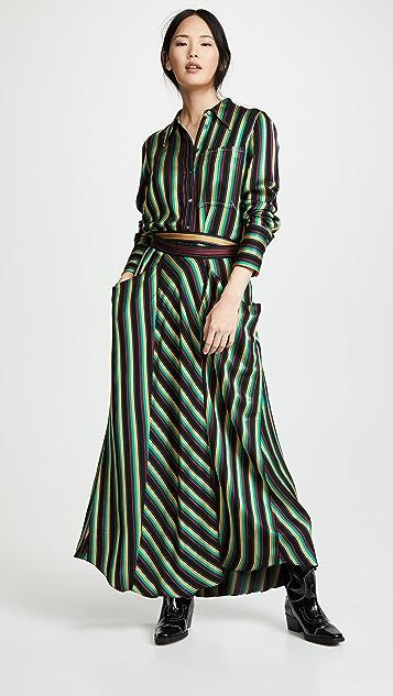 3.1 Phillip Lim 条纹长裙