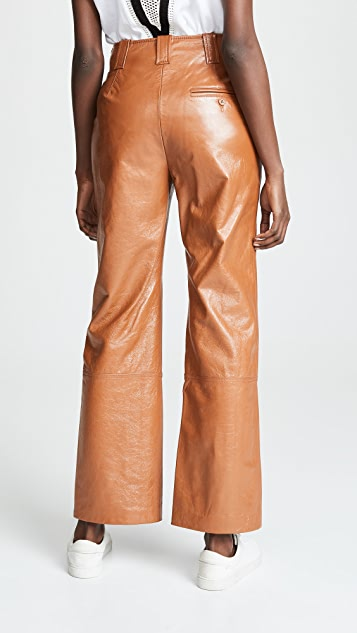 3.1 Phillip Lim Button Fly Kick Flare Pants