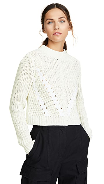 3.1 Phillip Lim Cropped Pullover
