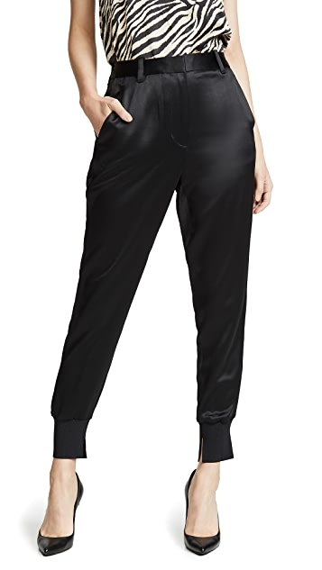 3.1 Phillip Lim Rib Side Panel Sweatpants
