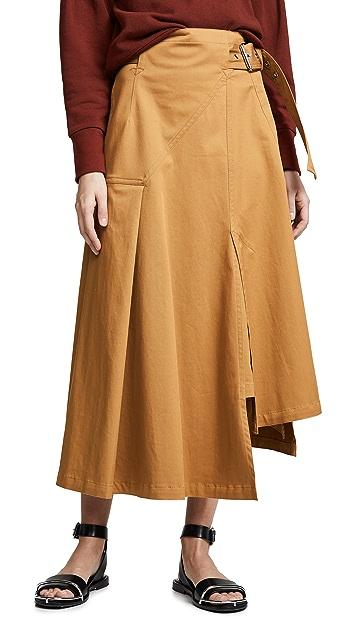 3.1 Phillip Lim 实用型系腰带半身裙