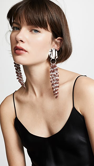 3.1 Phillip Lim Cascading Beaded Earrings