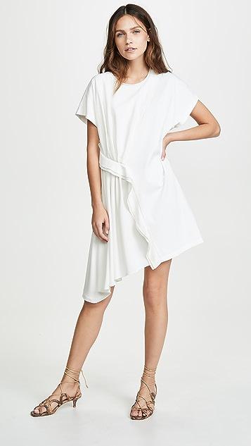 3.1 Phillip Lim Платье-футболка с оборками