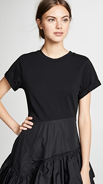 3.1 Phillip Lim Flamenco T 恤式连衣裙