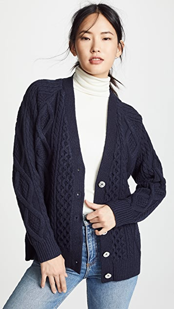 Aran Wool Cardigan by 3.1 Phillip Lim