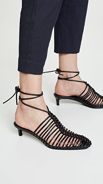 3.1 Phillip Lim Sabrina 45mm Cage 穆勒鞋