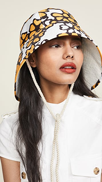ec2bced3e9054 3.1 Phillip Lim Printed Sporting Bucket Hat