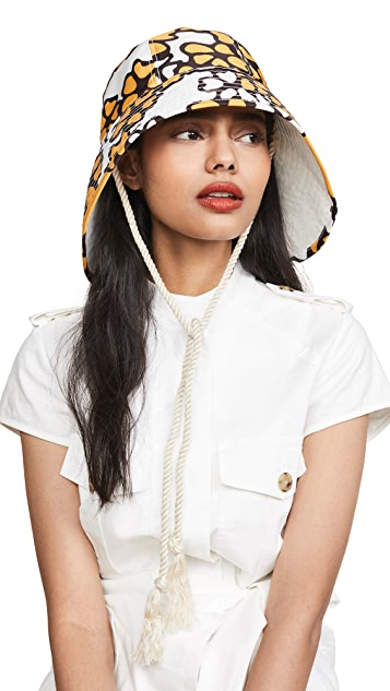 f1d1617022bdb ... 3.1 Phillip Lim Printed Sporting Bucket Hat