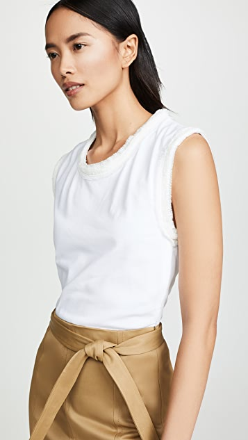 3.1 Phillip Lim Muscle T-Shirt Combo Sateen Dress