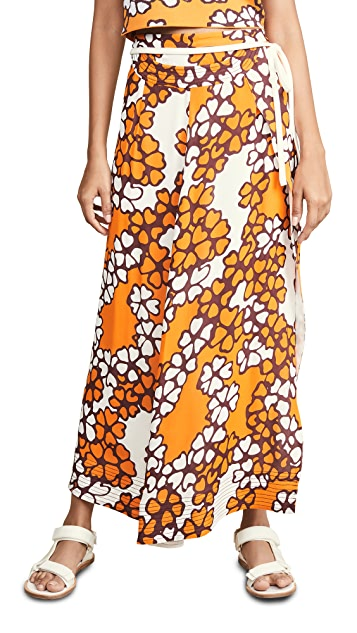 3.1 Phillip Lim Printed Skirt with Band