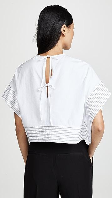 3.1 Phillip Lim 背面绑带宽松 T 恤