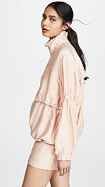 Cinched Sleeve Anorak