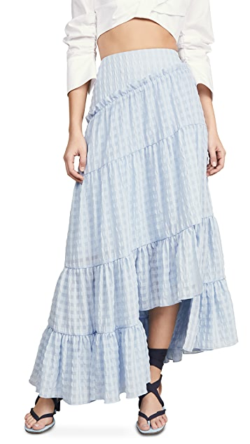3.1 Phillip Lim Full Tiered Skirt