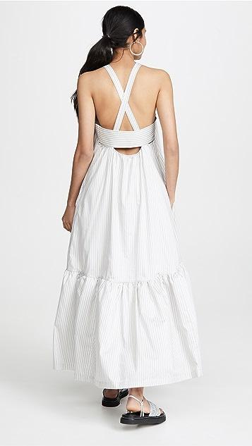 3.1 Phillip Lim 长款条纹连衣裙