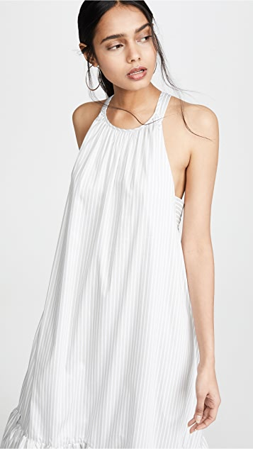 3.1 Phillip Lim Long Striped Tent Dress