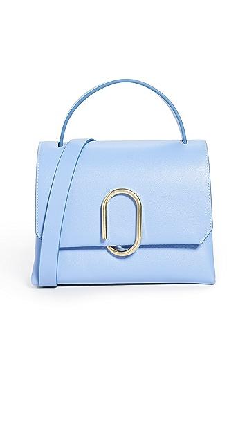 3.1 Phillip Lim Миниатюрная сумка-портфель с ручкой сверху Alix