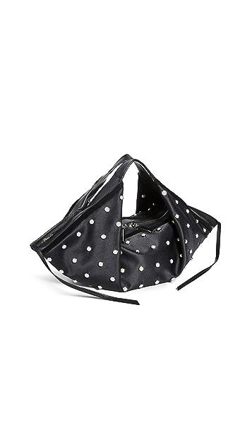 3.1 Phillip Lim Миниатюрная сумка-хобо с напуском Luna