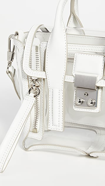 3.1 Phillip Lim Transparent Pashli Mini Satchel Bag