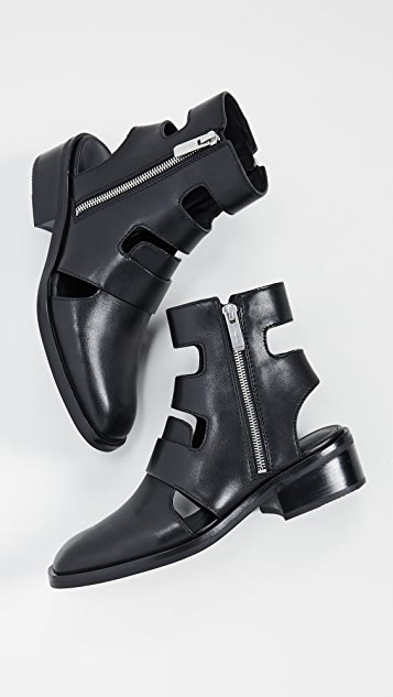 3.1 Phillip Lim Alexa 40mm Cutout Boots