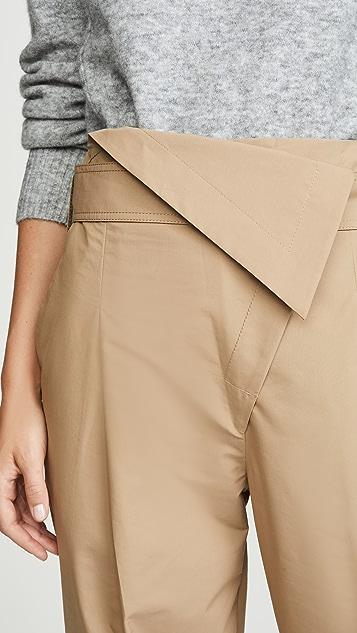 3.1 Phillip Lim Belted Overlap Trouser